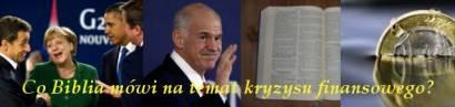 Grecja, G20 – Co  Biblia mówi na temat kryzysu finansowego?